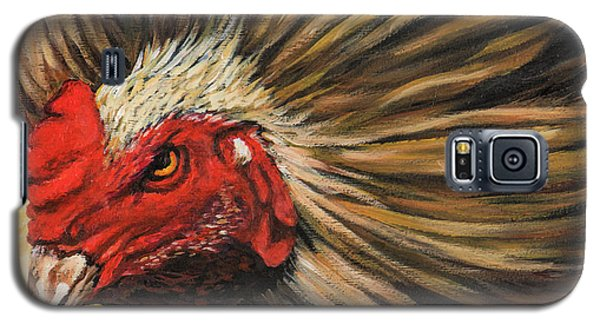 Galaxy S5 Case featuring the painting One Angry Ruster by Igor Postash