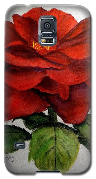 One Beautiful Rose Galaxy S5 Case by Carol Grimes