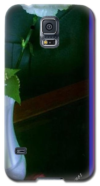 One Carnation And One Rose Bud Galaxy S5 Case