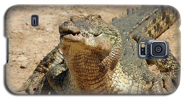 One Crazy Saltwater Crocodile Galaxy S5 Case