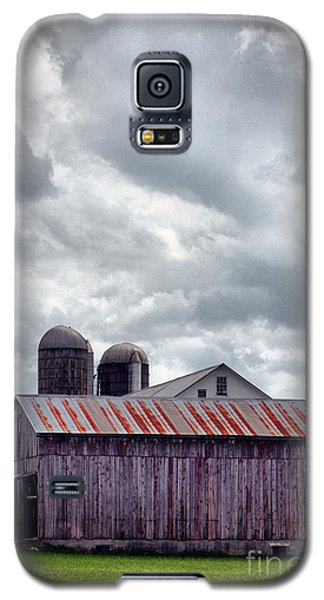 Galaxy S5 Case featuring the photograph One Fine Cloudy Day  by Polly Peacock