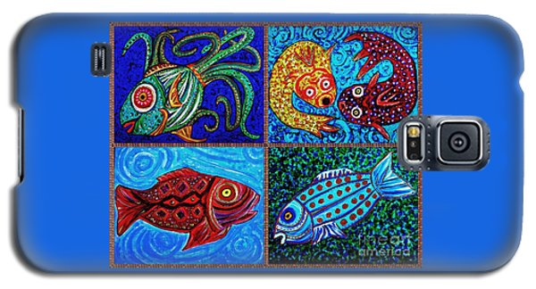 One Fish Two Fish Galaxy S5 Case by Sarah Loft