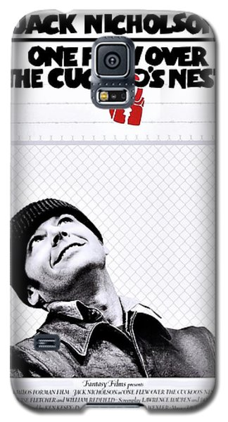 One Flew Over The Cuckoo's Nest Galaxy S5 Case by Movie Poster Prints