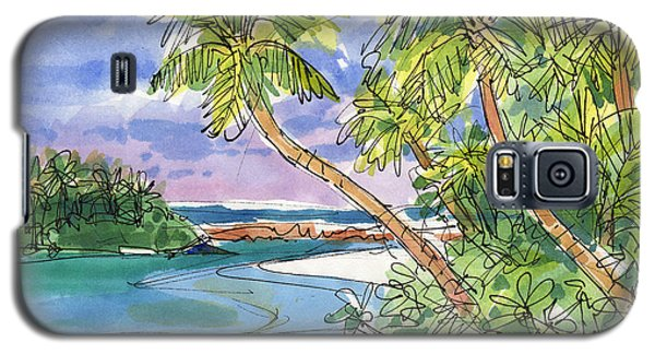 One-foot-island, Aitutaki Galaxy S5 Case