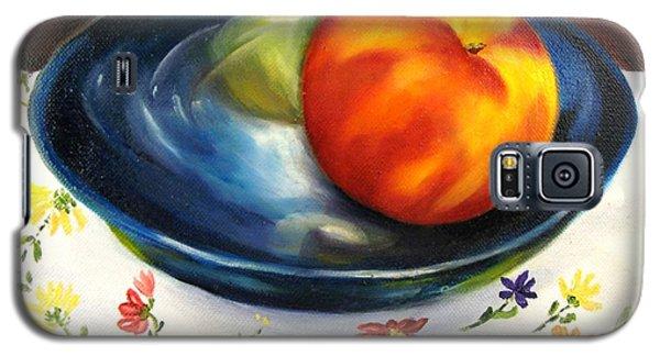 One Good Peach Galaxy S5 Case by Carol Sweetwood
