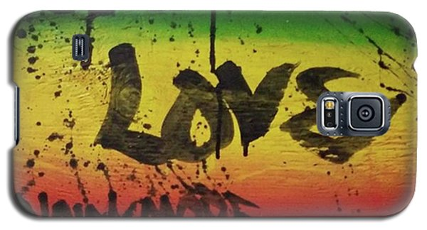 Galaxy S5 Case - One Love, Now More Than Ever By by Eyeon Energetic