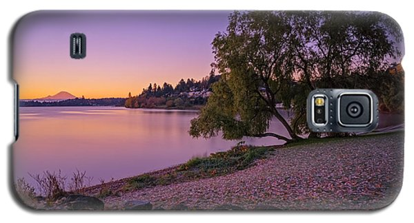 One Morning At The Lake Galaxy S5 Case