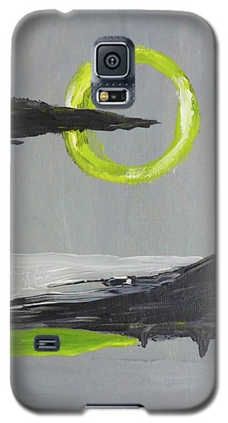 Galaxy S5 Case featuring the painting One Of Those Days by Victoria Lakes