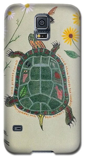 One Planet For All Galaxy S5 Case