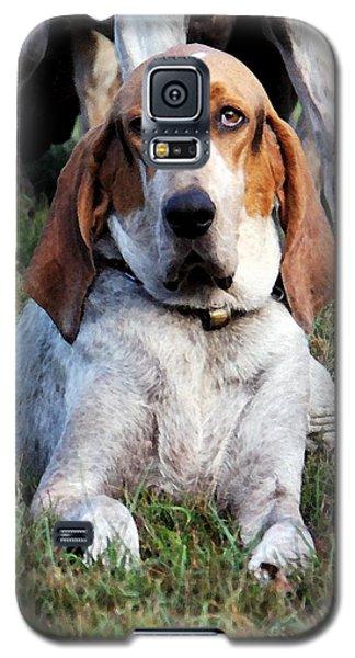 One Tired Hound Galaxy S5 Case