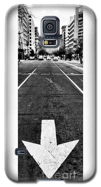 Galaxy S5 Case featuring the photograph One Way by Jim Moore