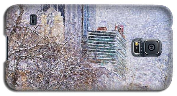 One Winter Day Galaxy S5 Case by Vladimir Kholostykh
