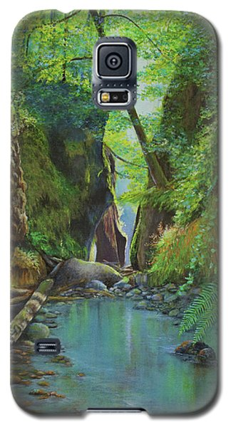 Oneonta Gorge Galaxy S5 Case by Jeanette French