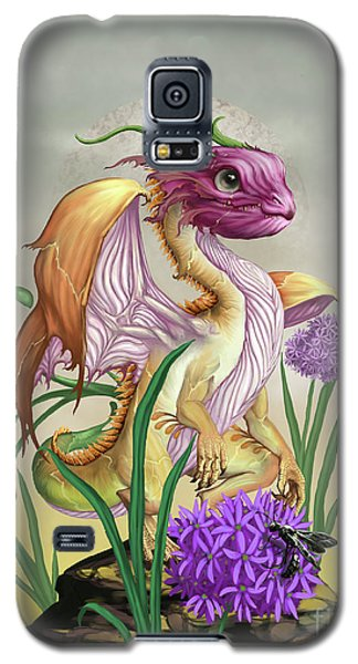 Galaxy S5 Case featuring the digital art Onion Dragon by Stanley Morrison