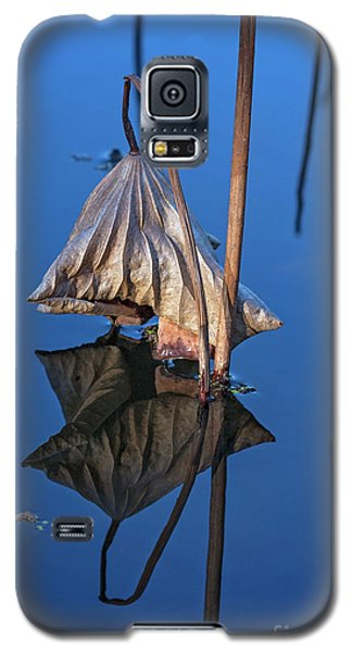 Galaxy S5 Case featuring the photograph Only In Still Water by Linda Lees