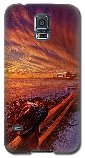 Galaxy S5 Case featuring the photograph Only This Moment In Between Before And After by Phil Koch