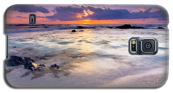 O'oma Beach Sunset Galaxy S5 Case