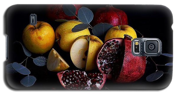 Opal Apples And Pomegranates Galaxy S5 Case