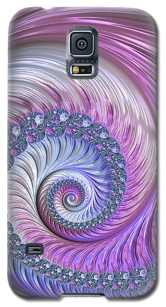 Opal Nautilus Galaxy S5 Case by Susan Maxwell Schmidt