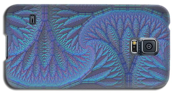 Galaxy S5 Case featuring the digital art Opalescence by Lyle Hatch