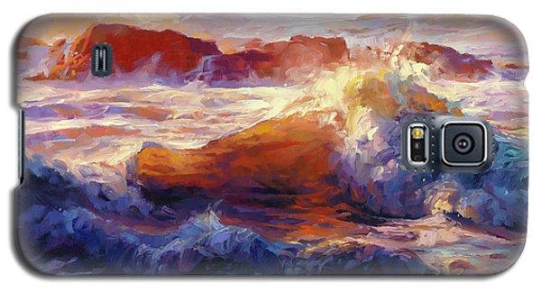 Opalescent Sea Galaxy S5 Case