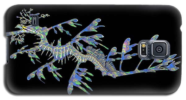 Galaxy S5 Case featuring the photograph Opalised Sea Dragon by Gary Crockett