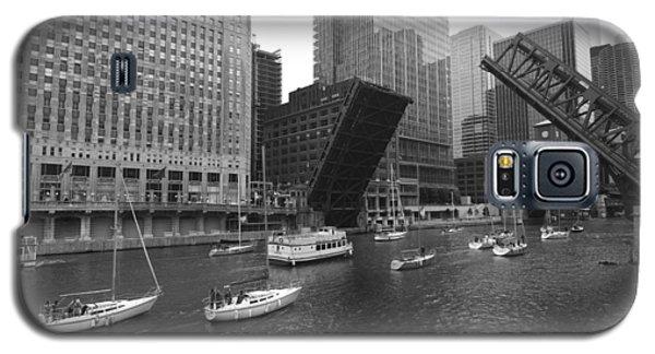 Open Bridges In Chicago Galaxy S5 Case