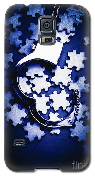 Open Case Mystery Galaxy S5 Case