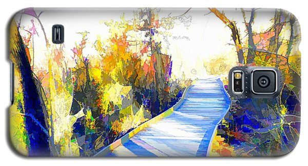 Open Pathway Meditative Space Galaxy S5 Case