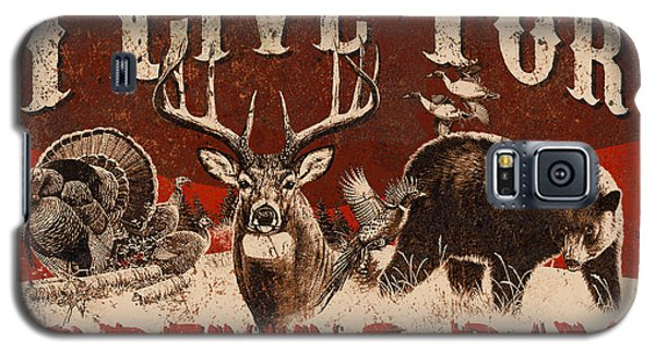 Pheasant Galaxy S5 Case - Opening Day Sign by JQ Licensing