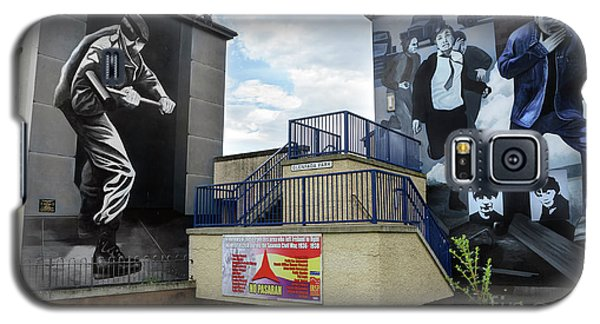 Operation Motorman Mural In Derry Galaxy S5 Case by RicardMN Photography