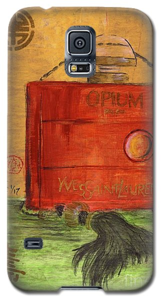 Galaxy S5 Case featuring the painting Opium by P J Lewis