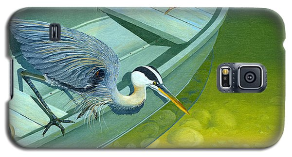 Opportunity-the Great Blue Heron Galaxy S5 Case