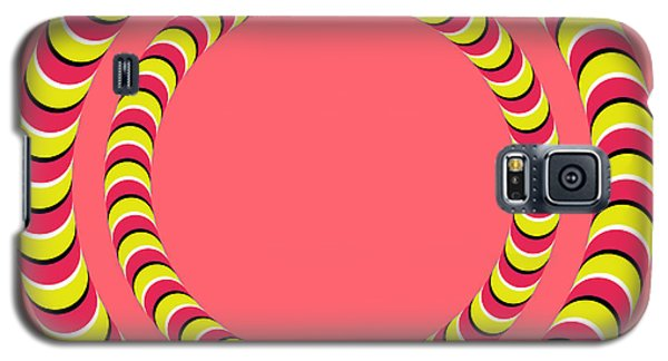 Optical Illusion Circle In Circle Galaxy S5 Case