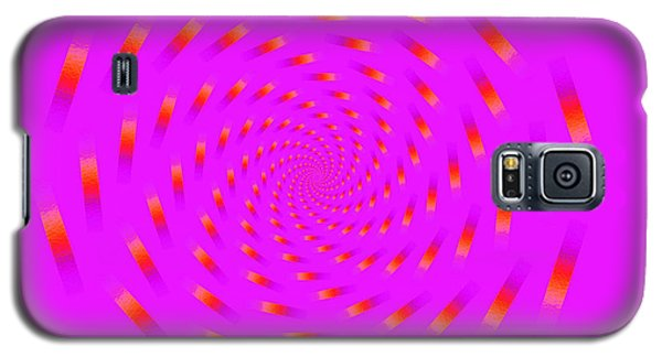 Optical Illusion Spinning Circle Galaxy S5 Case