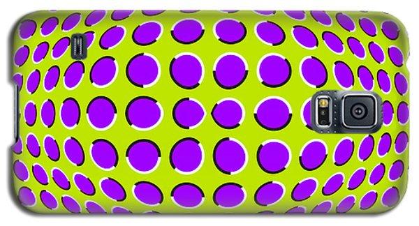 Optical Illusion The Ball Galaxy S5 Case