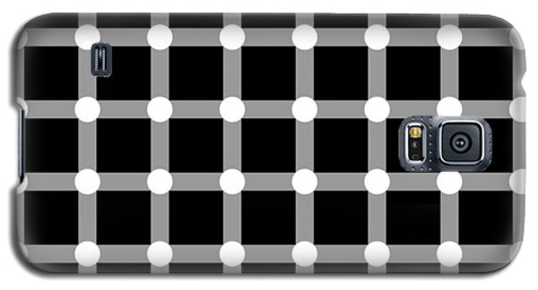 Optical Illusion The Grid Galaxy S5 Case