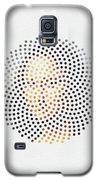 Galaxy S5 Case featuring the digital art Optical Illusions - Famous Work Of Art 1 by Klara Acel