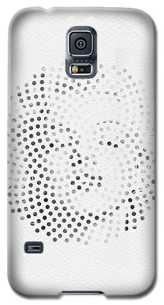 Galaxy S5 Case featuring the digital art Optical Illusions - Iconical People 1 by Klara Acel