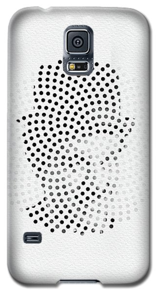 Galaxy S5 Case featuring the digital art Optical Illusions - Iconical People 2 by Klara Acel
