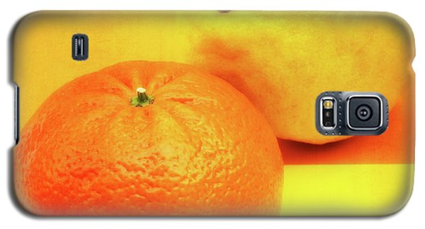 Orange And Lemon Galaxy S5 Case