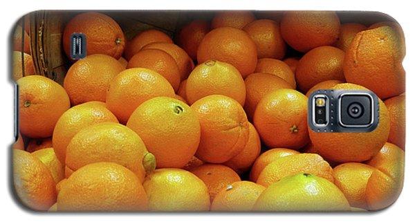 Orange Basket Galaxy S5 Case