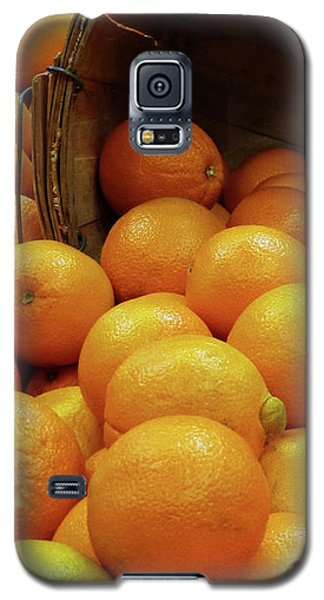 Orange Basket Galaxy S5 Case