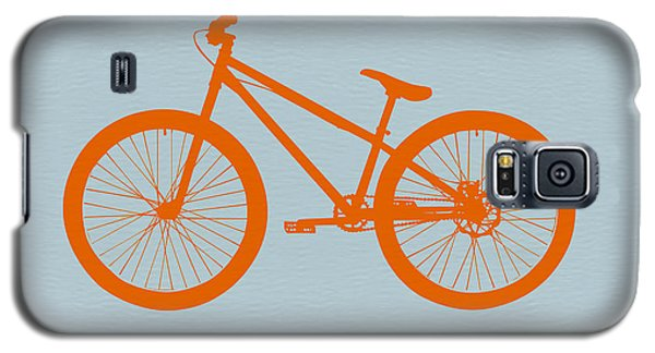 Transportation Galaxy S5 Case - Orange Bicycle  by Naxart Studio