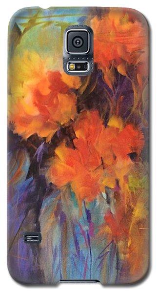 Orange Bouquet Galaxy S5 Case