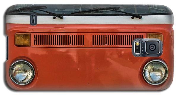 Orange Bus Galaxy S5 Case