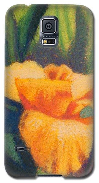 Orange Cannas Galaxy S5 Case