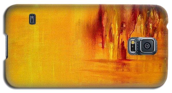 Orange Galaxy S5 Case