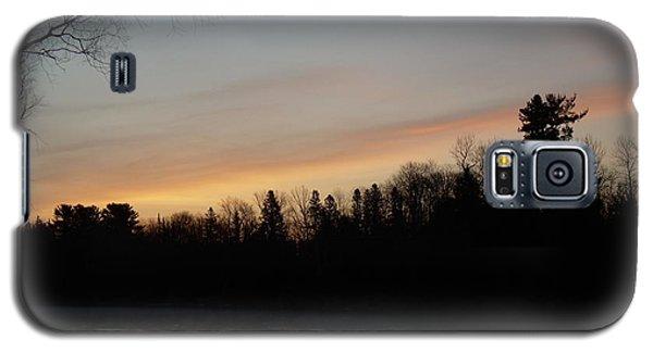 Orange Clouds Mississippi River Dawn Galaxy S5 Case by Kent Lorentzen