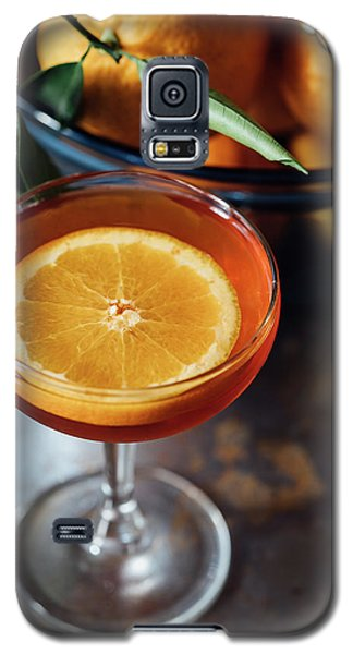Orange Cocktail Galaxy S5 Case by Happy Home Artistry